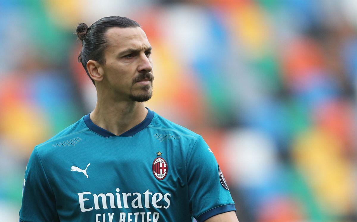 Milan na Twitteru na fantastičan način objavio da je Zlatan zabio gol u Napulju