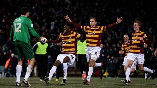 Bradford vraćen u FA kup