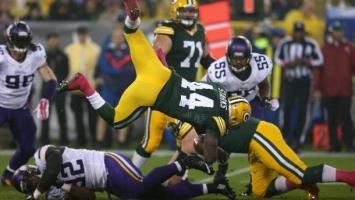 Packersi demolirali Vikingse