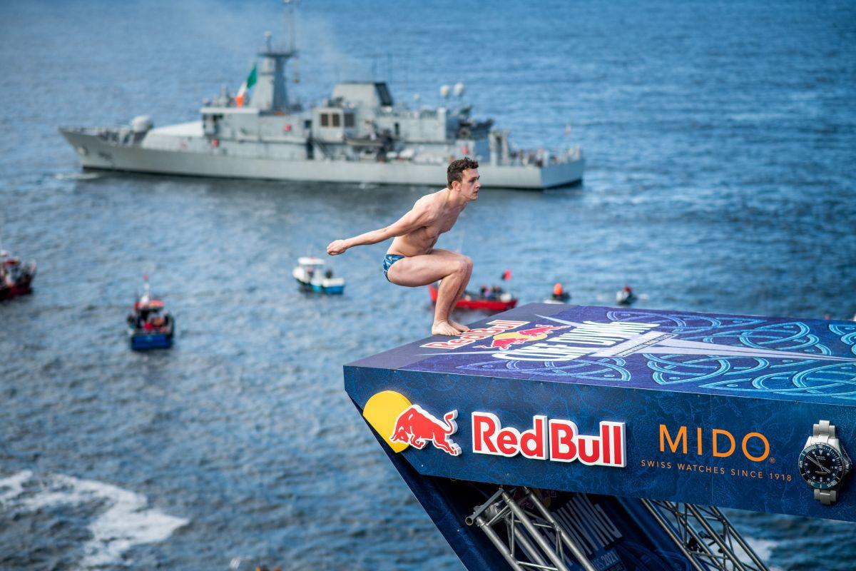 Red Bull Cliff Diving: Hunt i Iffland nezaustavljivi u Irskoj