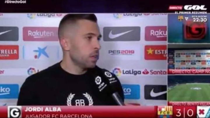 Jordi Alba se nakon poraza od Bilbaa izjavom obrukao za sva vremena