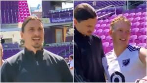 Ibrahimović ponovo imao svoj šou: Njemačka mašino, izgledaš sjajno za jednog 50-godišnjaka!