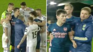 Xhaka izazvao bijes navijača Arsenala jer je branio svog prijatelja nakon meča