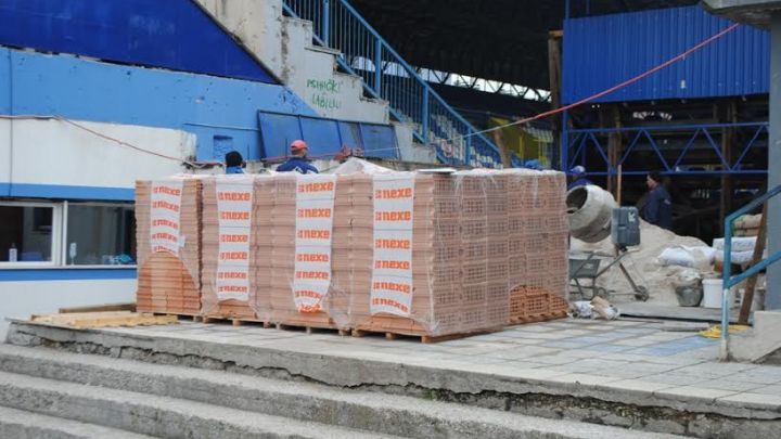 Započeli radovi na renoviranju stadiona FK Željezničar