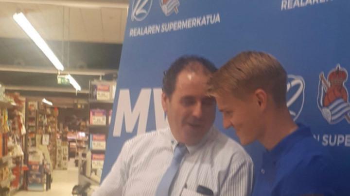 """Martin Odegaard proglašen igračem mjeseca - dobio jako čudan """"trofej"""""""