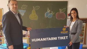 """Akcija kompanije Mozzart """"Humanitarni tiket u podne"""": Za dvije godine donirano 13.000 maraka"""