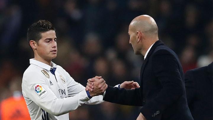 Zidane se vratio u Real, a to znači da se James Rodriguez sada sigurno neće vratiti