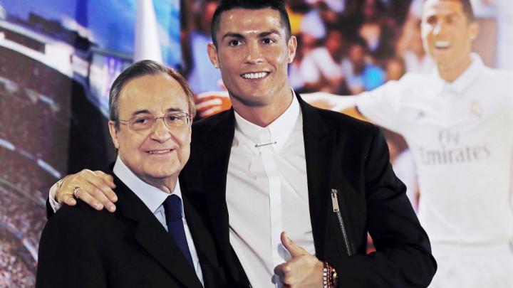 """""""Florentino Perez smatra da je Ronaldo precijenjen igrač"""""""