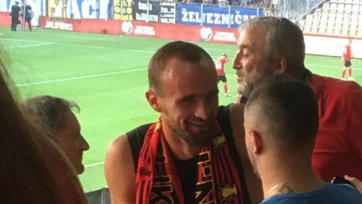 """Amel Tuka oduševio navijače Čelika fotografijom na Facebooku: """"Za Robijaše"""""""