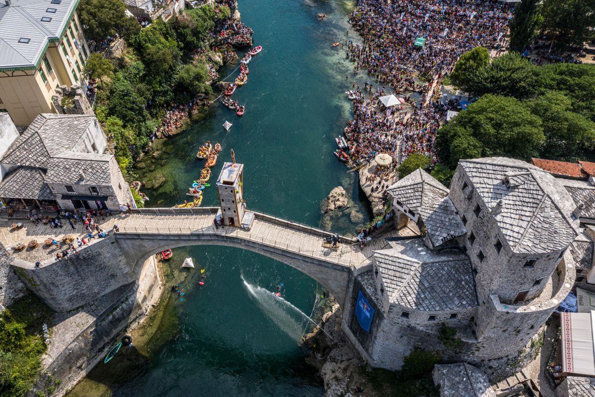 Red Bull Cliff Diving: Mostar ponovo među probranim svjetskim lokacijama