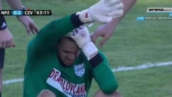 Stravična povreda golmana Novog Pazara