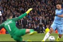 Žuti karton za Aguera ili penal za City?