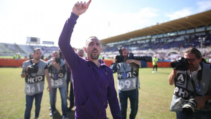 Sjajne vijesti za Fiorentinu: Franck Ribery ponovo trenira