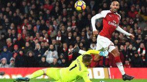 Topnici demolirali Everton, Aubameyang pogodio, hat-trick Ramseyja
