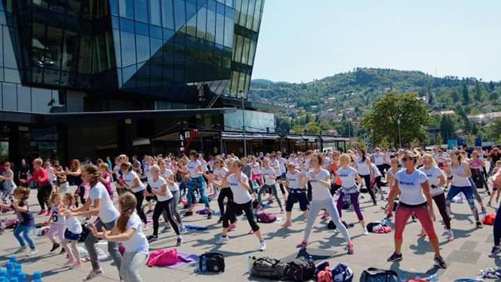 U subotu najveći fitness party - Izađi i treniraj