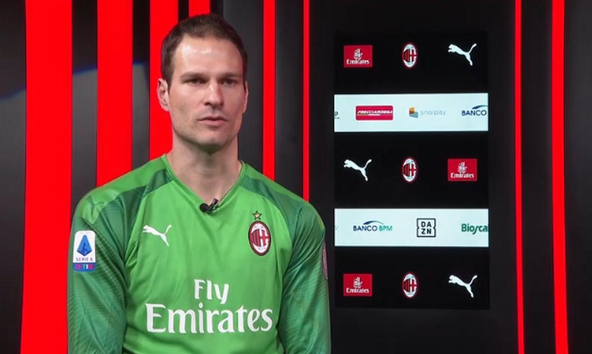 Intervju za zvaničnu stranicu Milana: Begović govorio o Donnarummi, Kruniću, Ibrahimoviću...