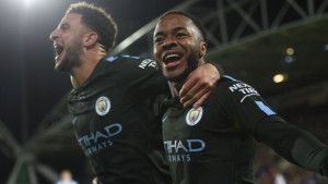 Sterling sretno i spretno nastavio Cityjev nevjerovatni niz