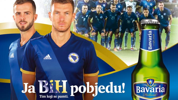 Bavaria ponosni sponzor Fudbalskog/Nogometnog saveza Bosne i Hercegovine!