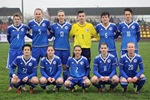 Ženska seniorska reprezentacije BiH igra prijateljski meč sa Ukrajinom