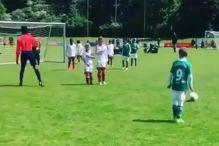 Sin Lukasa Podolskog je premazan svim bojama