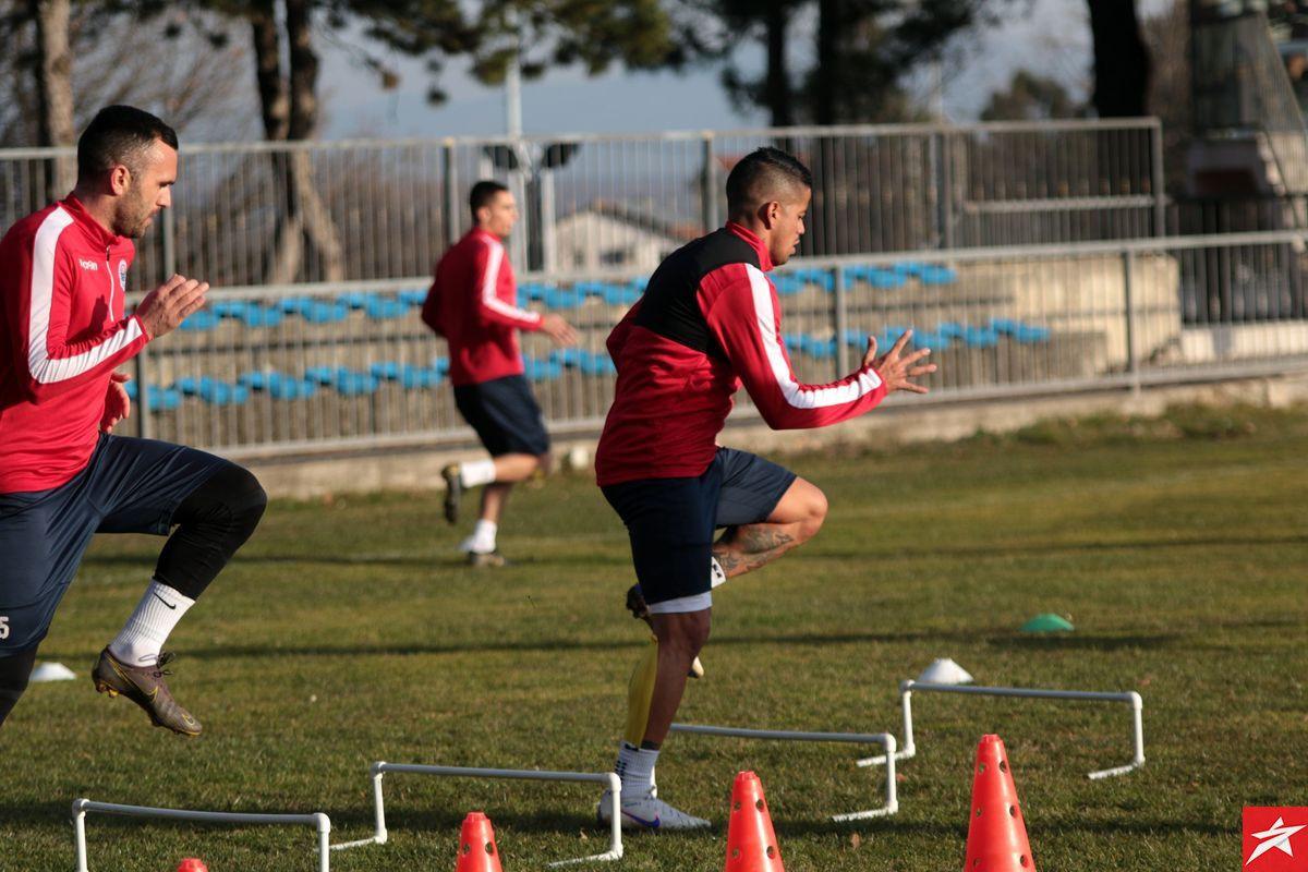 Ibanez i Jakovljević nisu dočekali kraj treninga Plemića