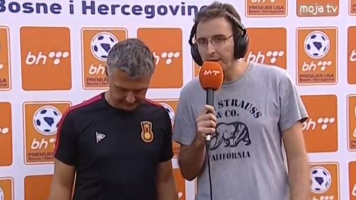 Trener Čelika o penalu: Nema smisla pričati o tome