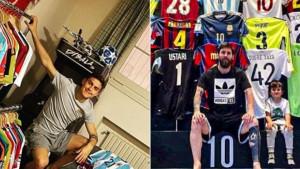 Zavirite u nevjerovatne kolekcije dresova Lionela Messija i Paula Dybale