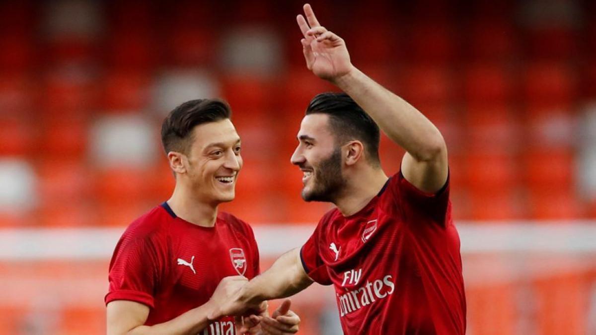 Kolašinac i Ozil ni večeras neće igrati za Arsenal