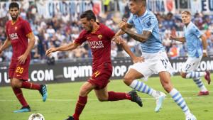 Prečke i stative spriječile istinski spektakl u Rimu: Lazio - Roma 1:1