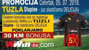 Kako besplatno do novog dresa FK Sloboda Tuzla?