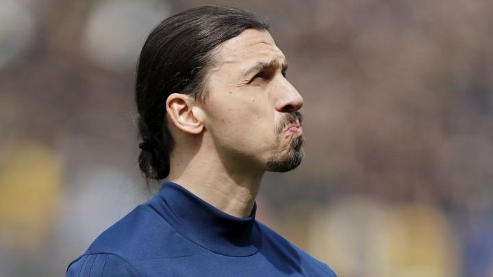 Milan digao ruke od Zlatana Ibrahimovića