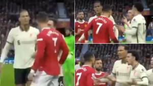Ronaldo nesportski udario Jonesa, a onda se pojavio Van Dijk
