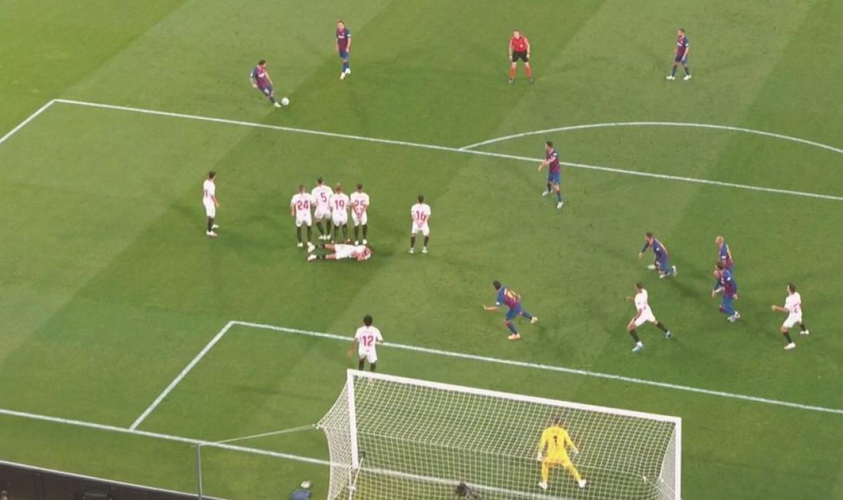 Spasili siguran gol: Igrači Seville imaju posebnu taktiku za Messijeve slobodnjake
