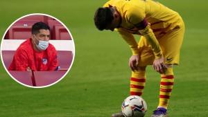 Reakcija koja se čekala: Kako je Suarez ispratio poraz Barcelone od Atletica
