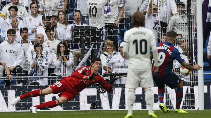 Navijači Reala ne pamte ovakvu krizu: Levante slavio na Santiago Bernabeu!