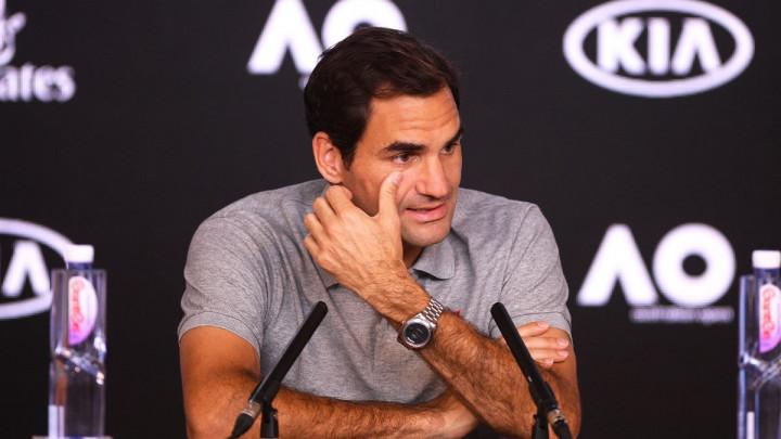 Federer ljut na pressici nakon što su mu rekli da je Đoković već osvojio AO