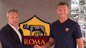 Edin Džeko ostaje u Romi!