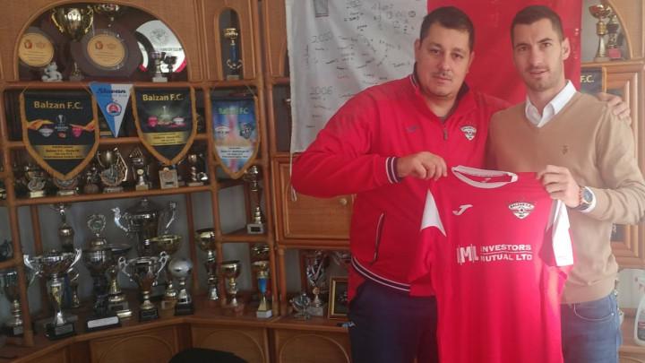 Aleksandar Kosorić potpisao za Balzan