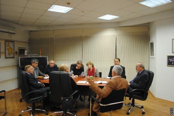 Sjednica Komisije za obnovu Olimpijskog muzija