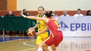 Bh. košarkašice doživjele težak poraz  protiv Crne Gore