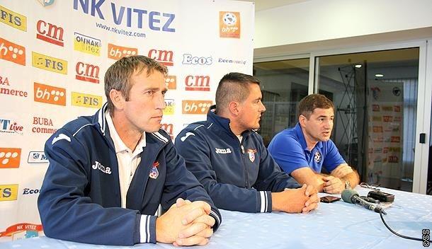 Valentin Plavčić više nije trener NK Vitez