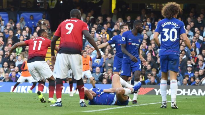 Ross Barkley pokvario Martialovu simultanku na Stamford Bridgeu