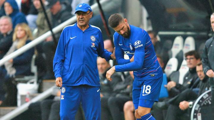 Sarri: Giroud me danas razočarao