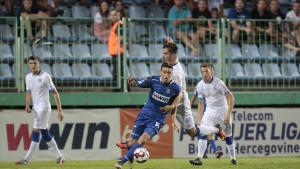Spektakularan meč na Pecari: Šest golova u remiju NK Široki Brijeg i FK Željezničar