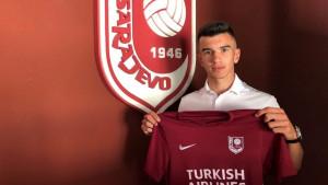 Mladi Faruk Hodžić potpisao profesionalni ugovor sa FK Sarajevo