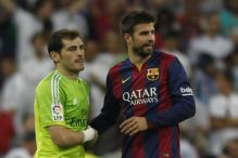 Brutalan komentar Piquea na Casillasovu fotografiju