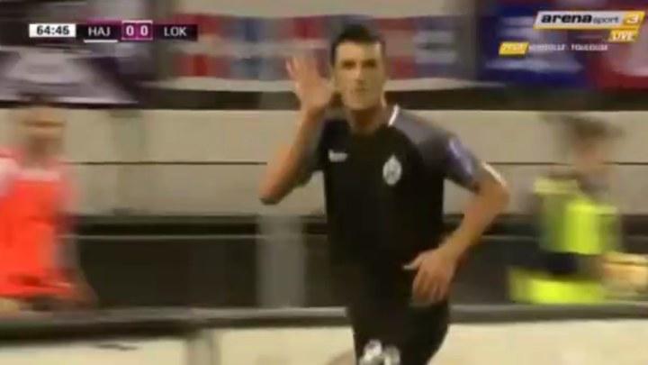 Krstanović zabio Hajduku, Lokomotivi bod u drami na Poljudu