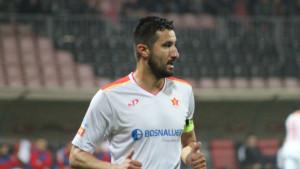 Denis Zvonić zbog povrede nosa ostao u Sarajevu
