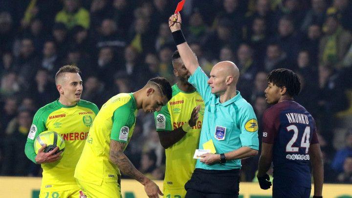 Sudija koji je udario i isključio igrača Nantesa se zamjerio i Zlatanu