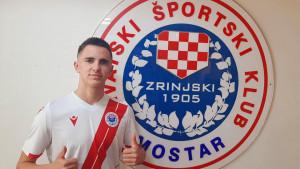 David Čamber - najmlađi profesionalac u povijesti HŠK Zrinjski